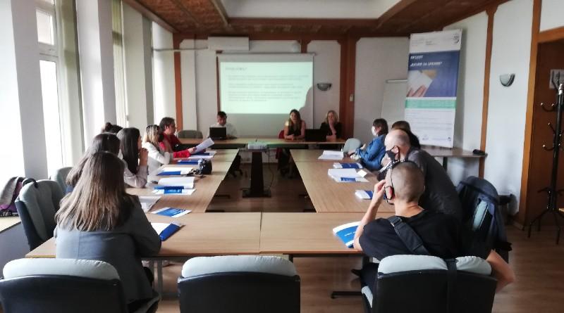 snimka обучение на регионални обучители
